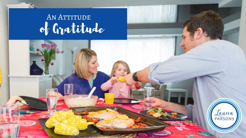 An Attitude of Gratitude - Lauren Parsons Wellbeing