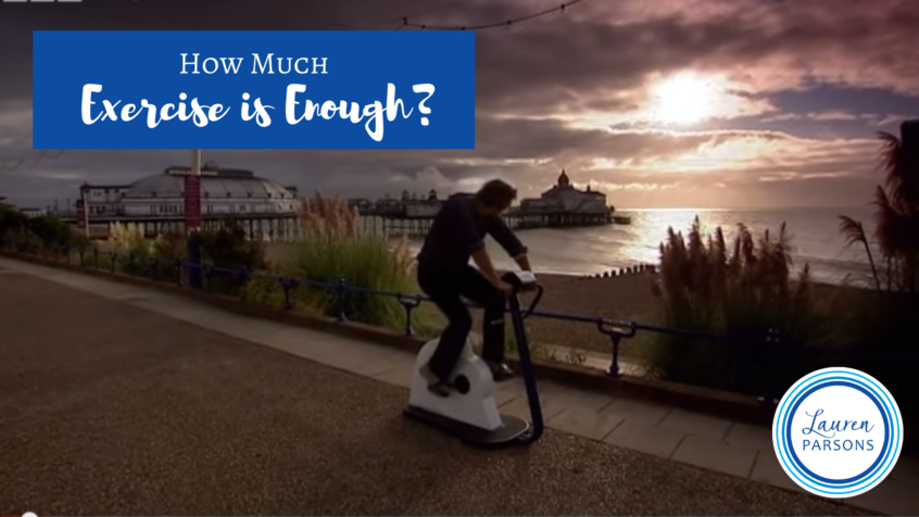 How much exercise is enough - Lauren Parsons (1)