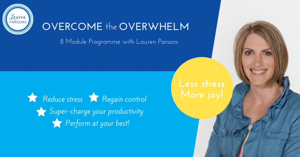 Lauren Parsons Overcome the Overwhelm