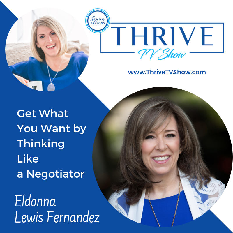 THRIVE TV Show with Lauren Parsons - Eldonna Lewis-Fernandez