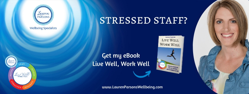 Get a copy of Lauren's ebook Live Well Work Well