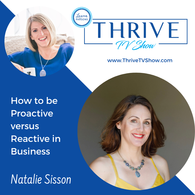 THRIVE TV - Natalie Sission