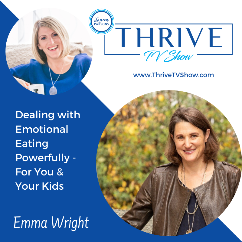 Lauren Parsons Wellbeing Specialists Thrive TV Show Podcast with Emma Wright
