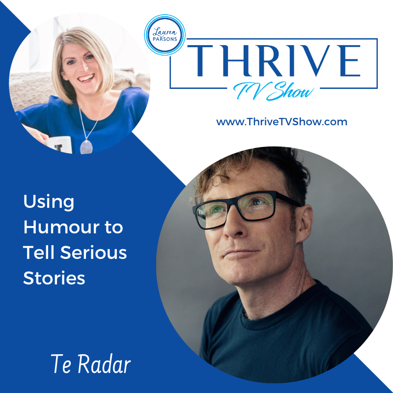 Lauren Parsons Wellbeing Specialists Thrive TV Show Podcast with Te Radar