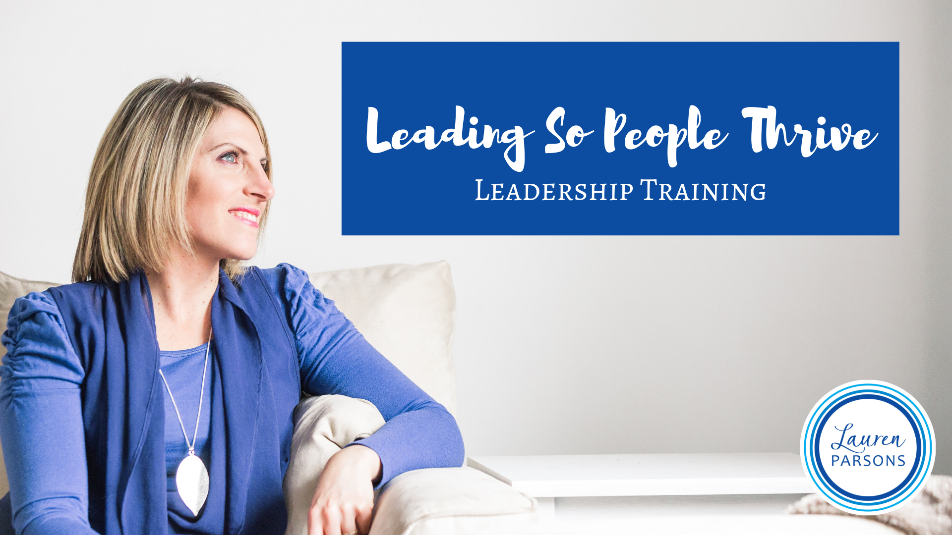 Leadership Training Health and Wellbeing Lauren Parsons