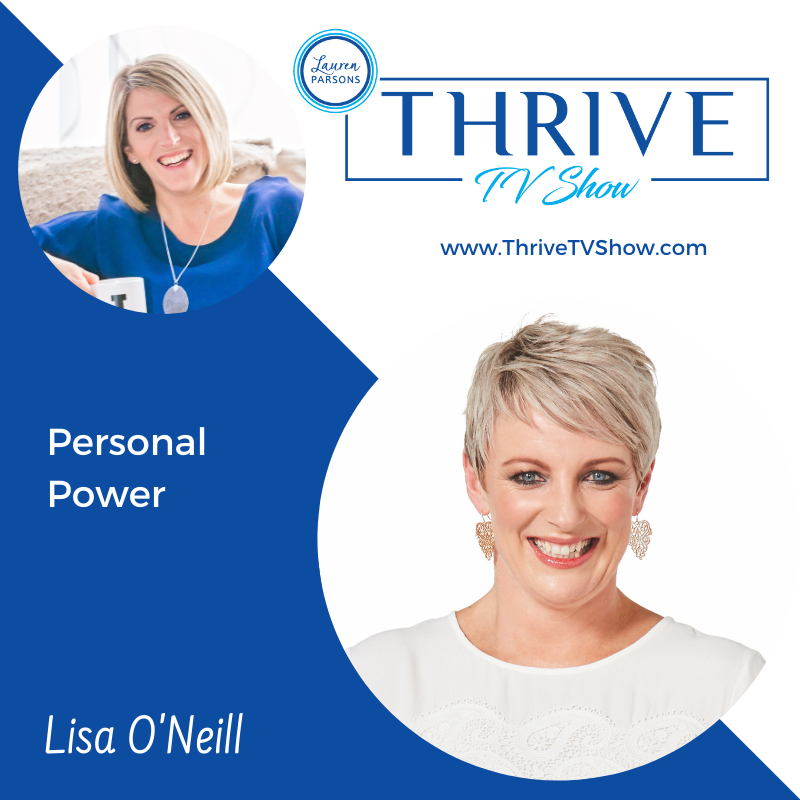 Lauren Parsons Wellbeing Specialists Thrive TV Show Podcast with Lisa O'Neill