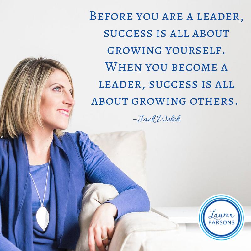 Lauren Parsons Wellbeing Specialist Quote