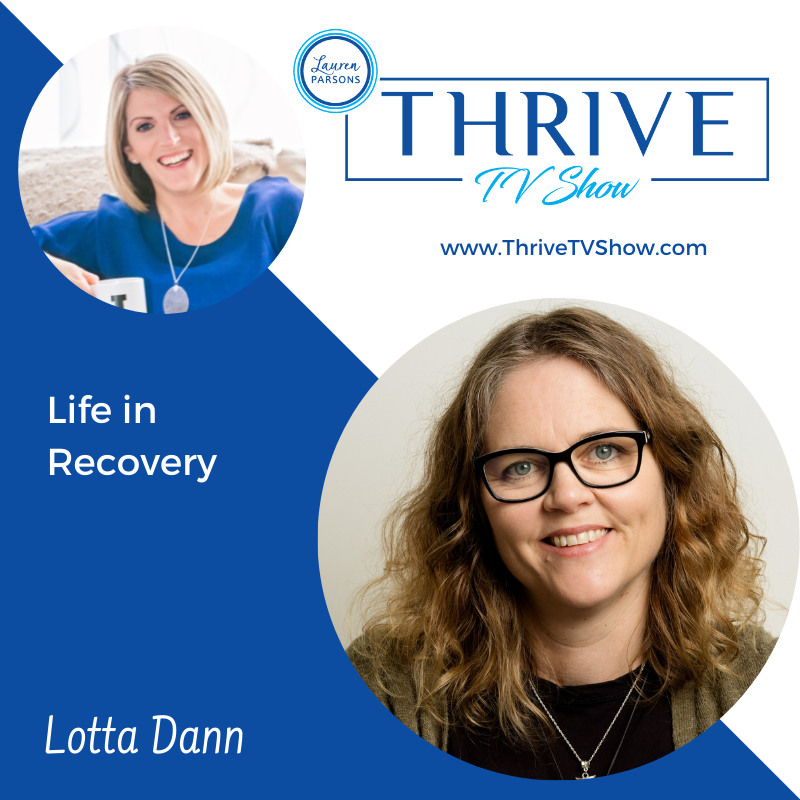Lauren Parsons Wellbeing Specialists Thrive TV Show Podcast with Natalie Cutler-Welsh